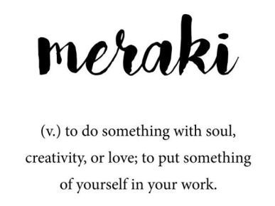 Meraki – Kismet Notes & Quotes